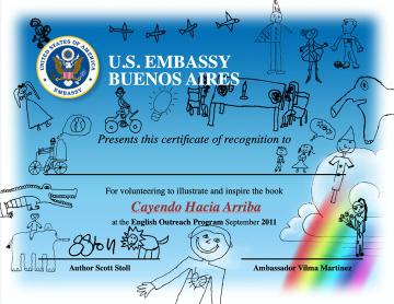 Make-A-Book Project Certificate of Achievement