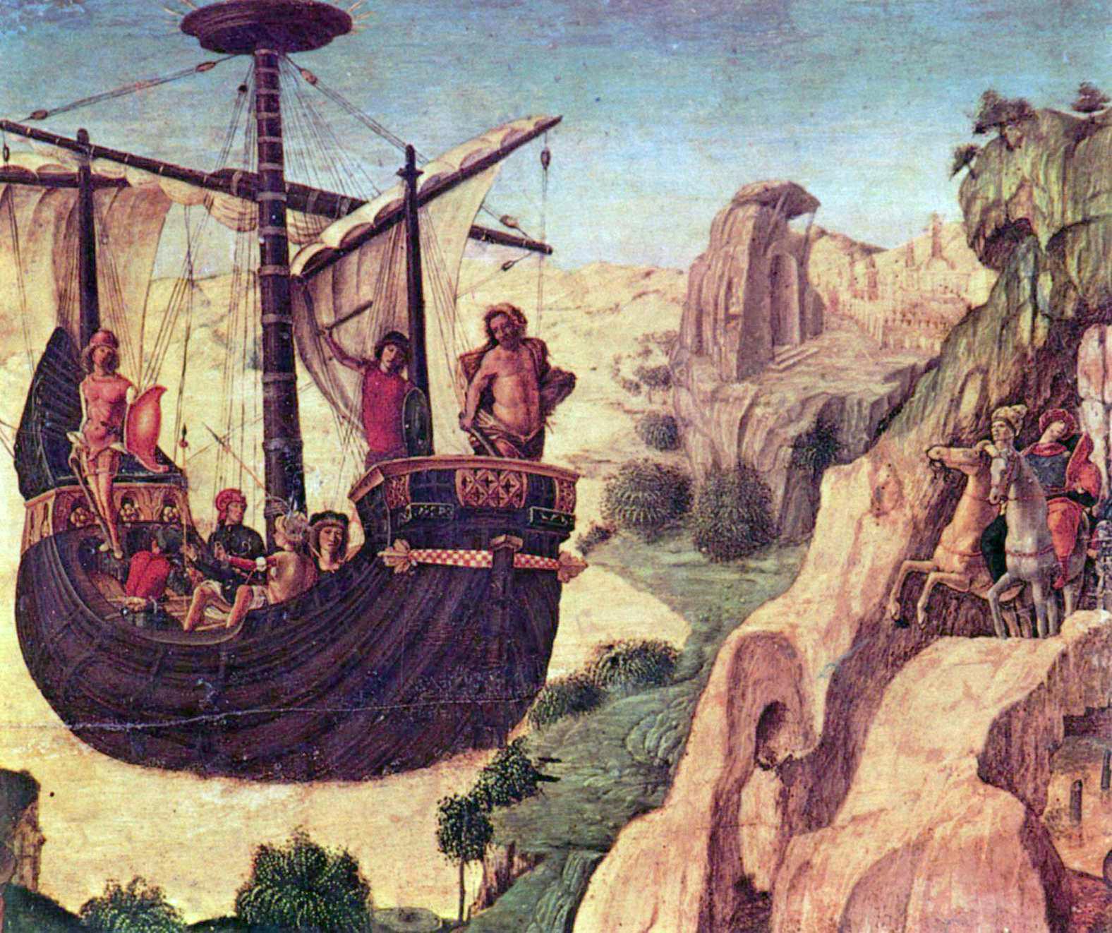 The Argo Renaissance painting by Lorenzo Costa