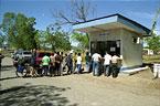 Border Crossing Nicaragua/Costa Rica