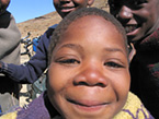 Kids are curious all over the world. Lesotho.