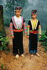 Traditional H'mong women. Northern Vietnam.