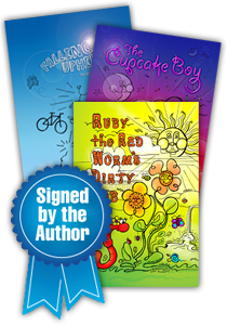 signed by the author fundraiser